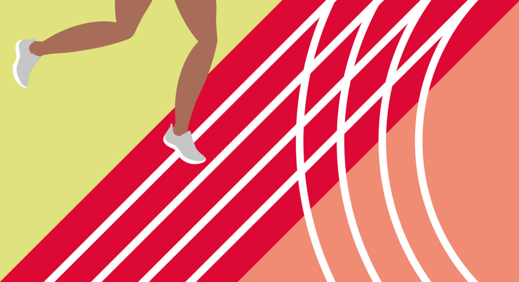 Titelblatt Leichtathletik